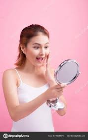 woman holding mirror. Simple Woman Woman Holding Mirror U2014 Stock Photo For Holding Mirror I