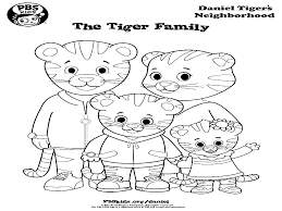 High Tech Daniel Tiger Coloring Page And His Friends Pages Pdf In
