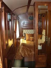 El Transcantabrico Gran Lujo   Looking Into Suite Double Bedroom El  Transcantabrico Gran Lujo Is The Most Luxurious Narrow Gauge Train In The  World, ...