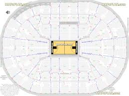 Rose Quarter Seating Chart With Rows Portland Trail Blazers Seating Chart With Rows Best