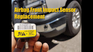2004 Chevy Avalanche Service Airbag Light Is On Silverado Sierra Front Impact Airbag Sensor Replacement Gm Truck Anthonyj350