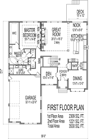 Small Picture 5 Bedroom Floor Plans With Basement Home Design Ideas Pictures
