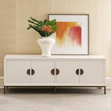 white media console furniture. Alton White Media Console Furniture I