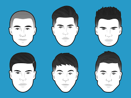 diffe hair cuts based on face shape