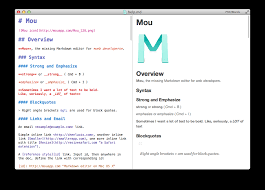 markdown editor for developers