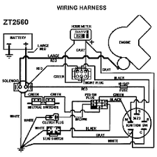 wiring diagram for swisher mower the wiring diagram swisher zero turn riding mower parts model zt2560 sears wiring diagram