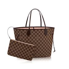 louis vuitton neverfull. neverfull mm damier ebene in women\u0027s handbags collections by louis vuitton o