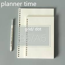Five Star Graph Paper Notebook Spiral Notebook Refills Loose Leaf