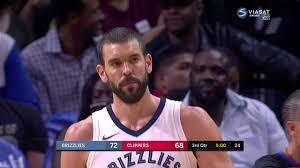 Marc Gasol vs Clippers (4 - 11 - 2017 ...