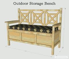 diy outdoor storage bench built in storage bench inspirational how to build a outdoor storage bench