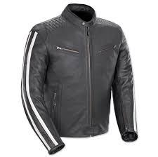 joe rocket men s vintage rocket black white leather jacket