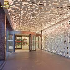 china interior aluminum wall panels