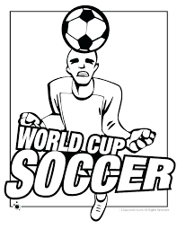 Soccer Coloring Pages Free Players Snack Pictures Ball Page Es So