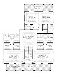 Floor Plans With 2 Master Bedrooms 28 images House Plans With