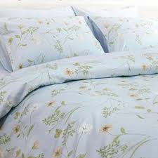 vintage garden duvet cover set blue