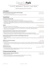 Free Online Resume Template Resume Template In Latex Github Posquit100awesome Cv Awesome Is 31
