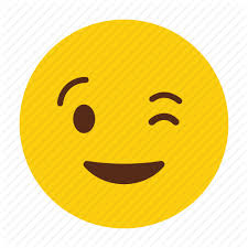 Emoticon Happy Reaction Smiley Tongue Wink Icon