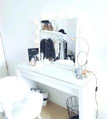 desk mirror with lights. Delighful With White Desks With Mirror Desk Lights Modern Ideas For More Decor  Makeup Table And Corner K