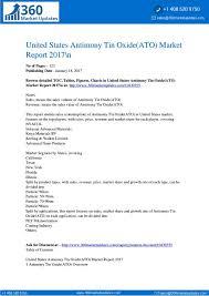 Antimony Price Chart 2017 Report Antimony Tin Oxide Ato Market Report 2017 N Joomag