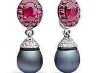 Идеи на тему «<b>Серьги с жемчугом</b> и драгоценными камнями» (20 ...