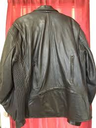 ultimate rider leather motorcycle jacket