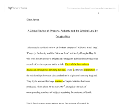 a critical review of property authority and the criminal law by  document image preview
