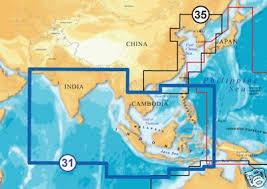 Navionics Gold Chart Cartridge Navionics Gold Xl9 31xg Msd Chart Card Indian O S China On