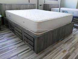 giant pallet bed with storage