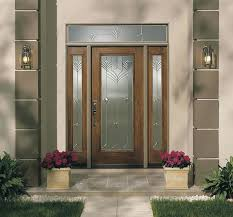 cool pretty light grey 6 panel wood entry door with white framed
