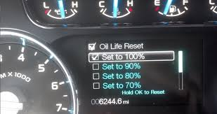 2013 Ford Escape Check Engine Light Reset Oil Change Required Ford