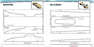 Pinewood Derby Template Cool Pinewood Derby Car Templates Pdf Flybymediaco