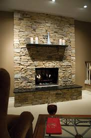 stone veneer fireplace would love to cover our red brick wall in family room with