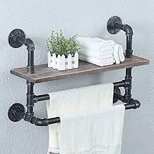 weven industrial pipe bathroom