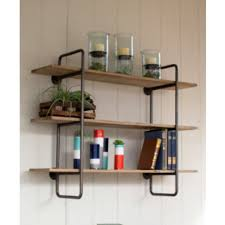 wall shelves metal and wood wall shelves rustic wood and