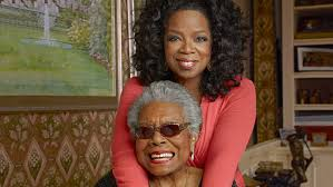 a angelou interviewed by in  a angelou and oprah