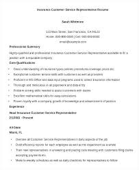 Customer Service Representative Resume Sample Pdf. Customer Service ...