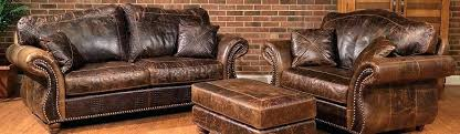 header western leather furniture whole