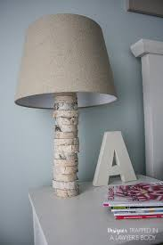 come learn to make your own diy stacked wood lamp inspired by