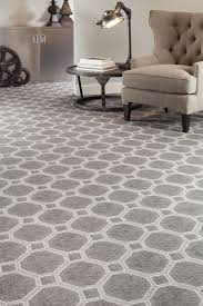 carpet for home office. hexagon patterned carpet gray bold flooring with neutral accents home office ideas for