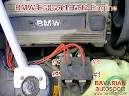 bmw i m coil pack spark plug wire and firing order is 318i is ic