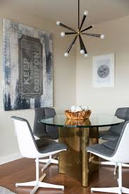 kitchen table golden home set prev a sputnik style light fixture hangs above a vintage dining table and v