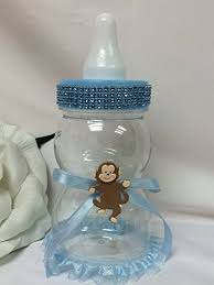 Big Baby Bottle Decoration Excellent Ideas Big Baby Bottle For Shower Shining Design Blue 2