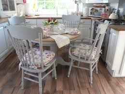 amazing of shabby chic round dining table and chairs beautiful shab chic cottage style table and