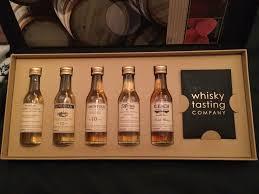 whisky tasting pany gift set