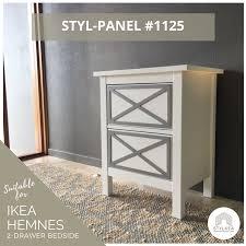 hemnes ikea furniture. Peel-and-stick Fretwork Panel Suitable For IKEA Hemnes Furniture Ikea