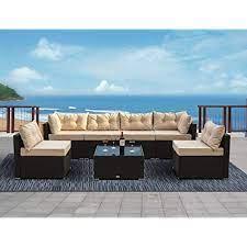 allewie 7 pieces outdoor patio