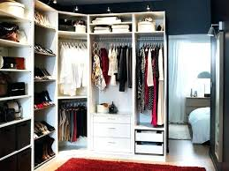 small spaces walk in closet chic best closets images on ikea