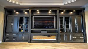 Living Room Bar Cabinet Custom Bar Cabinets With Glass Doors Built Using Maple Wood
