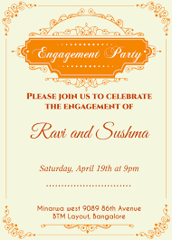 Online Engagement Invitation Cards Free Invitation Cards Photo Inspirationa Indian Engagement Invitation 5