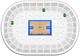 Chesapeake Arena Seating Chart With Rows Oklahoma City Thunder Chesapeake Energy Arena Seating Chart